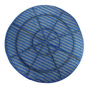 Micro Fiber Pads W/Scrub Strips - Oscillating Pad Machine