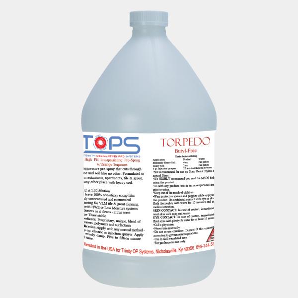 Torpedo Oscillating Pad Machine Chemical