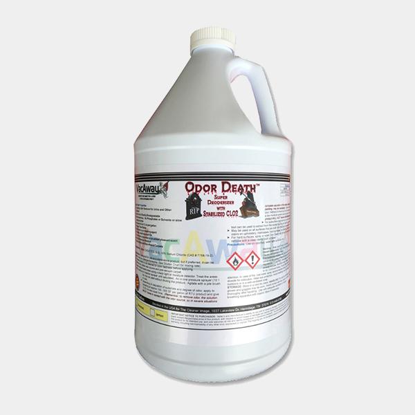 VacAway Odor Death Oscillating Pad Machine Chemical